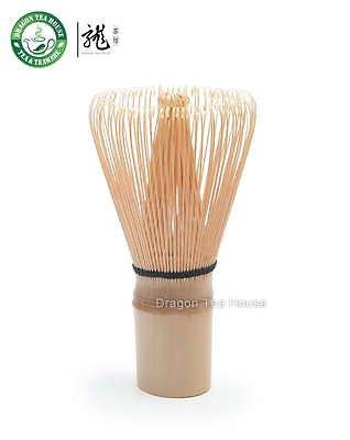 100 Pondate White Bamboo Chasen / Green Matcha Tea Whisk / Made In Japan.