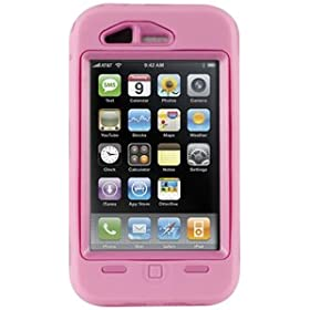 Otterbox Defender Semi-rugged Case iPhone 3G (Pink)