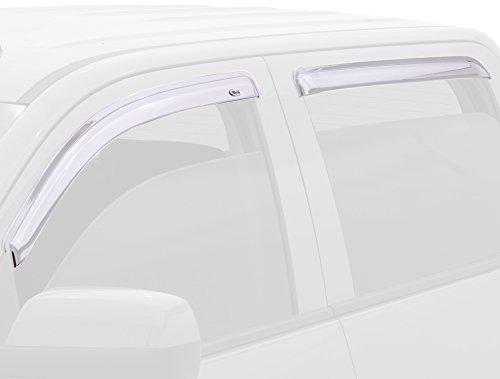 Auto Ventshade 684536 Chrome Ventvisor Window Deflector, 4 Piece