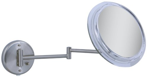 Zadro - Surround Light 7X Wall Mirror SW47 Satin Nickel
