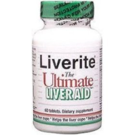 Liverite Products - Liverite Liver Aid, 60 tablets