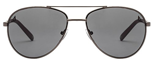 Vincent Chase VC 6962 Gunmetal Black Gray Grey C10 Aviator Sunglasses (103678)