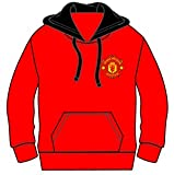 Mens Official Manchester United Football Club Hoodie Jumper Hoody Sweatshirt Hooded Sweat Top Gift Medium