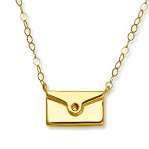 jared jewelry sale jared november envelope pendant yellow 2939