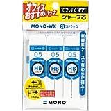 トンボ鉛筆 シャープ芯 モノR5WX HB 3P 0.5mm ECE-321 / 5個