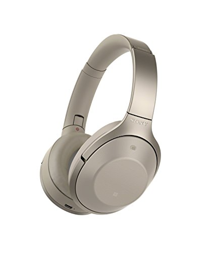 Sony Premium Noise Cancelling, Bluetooth Headphone, Grey Beige (MDR1000X/C)