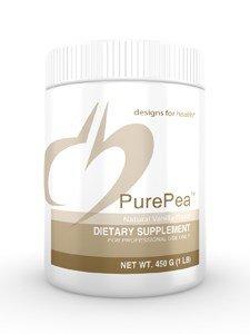 Designs For Health PurePea Natural Vanilla -- 1 lb