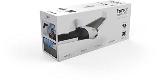Parrot Disco FPV Drone, Velocità Massima 80 km/h e Autonomia di 45 Minuti
