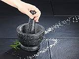 Rosenstein & Söhne Granit-Mörser mit Stößel -