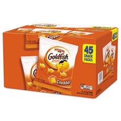 Pepperidge Farm Cheddar Goldfish Crackers, 45 Count