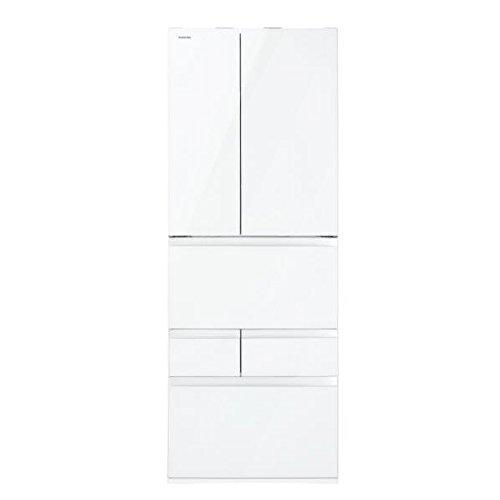 東芝 555L 6ドア冷蔵庫(クリアシェルホワイト)TOSHIBA マジック大容量 GR-J560FV-ZW
