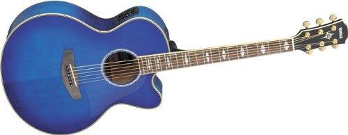 Yamaha cpx1000 medium jumbo cutaway acoustic electric for Yamaha fgx720sca price