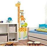 Banggood Wall Decor Cartoon Giraffe Removable Vinyl Sticker Kid Height Chart Measure