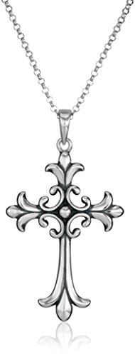 Top recommendation for silver chain cross necklace for women