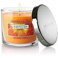 Bath And Body Works Slatkin & Co. 4 Oz. Filled Candle Calypso Sun