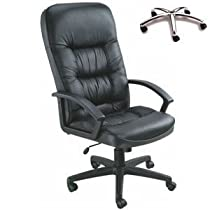 Boss High Back Leatherplus Chair in