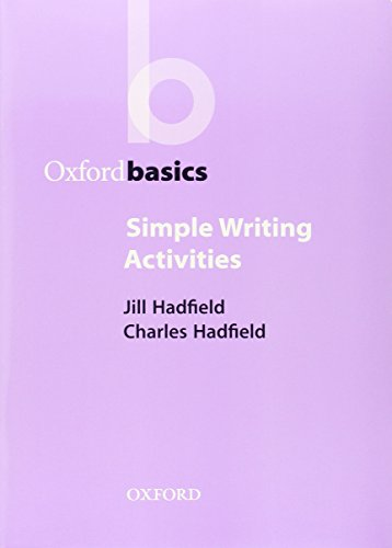 Simple Writing Activities, by Jill Hadfield, Charles Hadfield