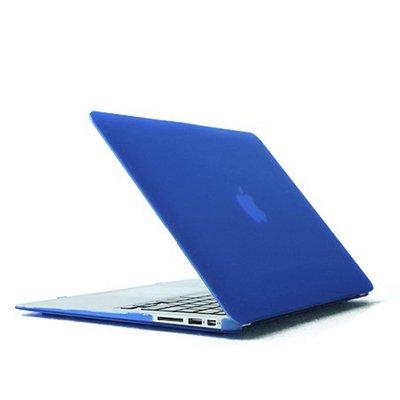 Shopping!: Funda Carcasa POLICARBONATO Azul Oscuro Translucido Apple Macbook Air 13.3