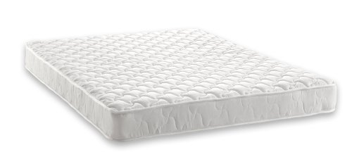 Signature Sleep Essential 6-Inch Twin Mattress, White