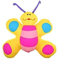 Lycra Butterfly With Spots Soft Toy With Thermocol Beans Made Soft Toy 14X12X5.5 Inch HIGH QUALITY Cushion Decorative...