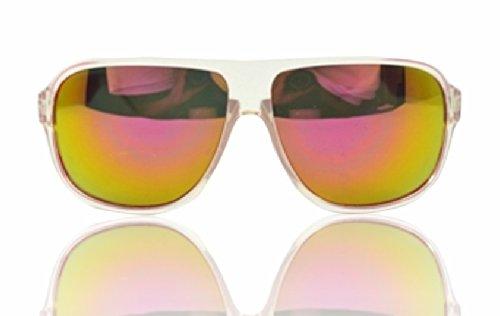 "90210 CALIFORNIA ""Summertime At The Beach"" Fire Iridium Aviator Sunglasses"