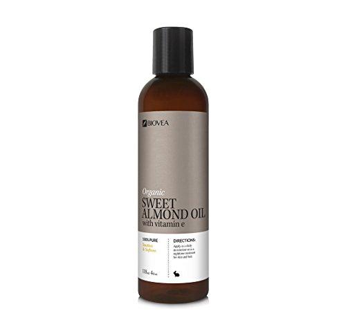 BIOVEA Skincare SWEET ALMOND OIL (Organic) (4oz) 118ml