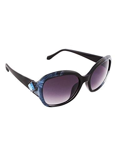 Olvin UV- Protected (OL358-04) Blue Womens Square Sunglasses Good Stuff With Premium Looks
