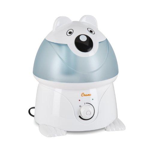 Crane Adorable Ultrasonic Cool Mist Humidifier - Polar Bear