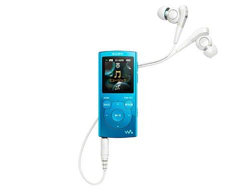 SONY ウォークマン Eシリーズ [メモリータイプ] 2GB ブルー NW-E062/L