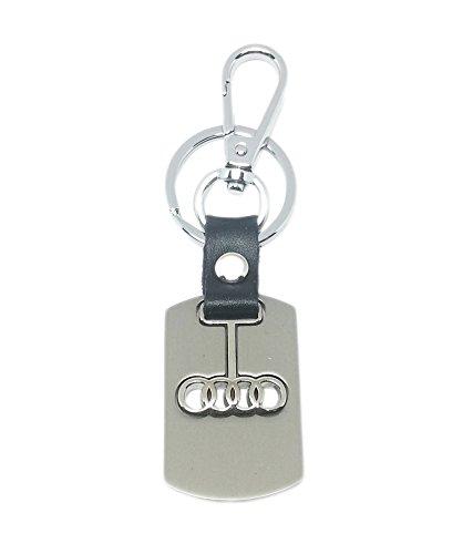 EShop24x7 Audi Alloy Metal Steel Imported Key Chain Key Ring Car Logo For A4 A6 A7 A8 Q5 Q7 Tt Coupe Rs 5 R8