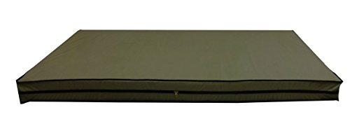 Dream Care Dust & Water Proof Twin Size(36''X75''X6'') Coffee Zipper Mattress Cover - Set Of 2pcs