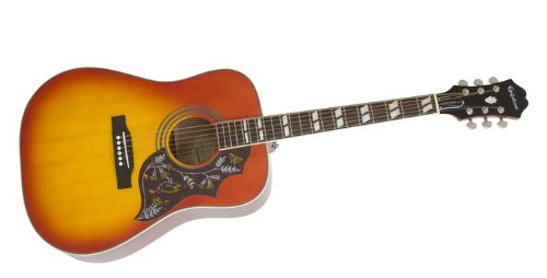 Epiphone Hummingbird PRO Acoustic/Electric guitar good for beginners
