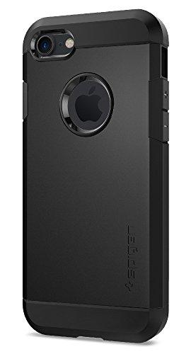Coque iPhone 7, Spigen® [Tough Armor] HEAVY DUTY [Noir] Slim Dual Layer Protective Housse Etui Coque Pour iPhone 7 (2016) - (042CS20491)