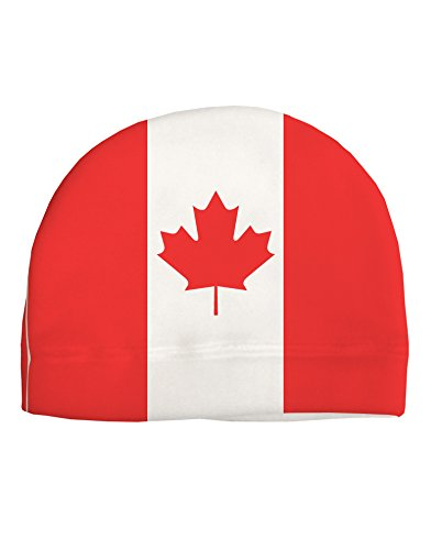 Trump and Clinton Halloween Costumes - Choose Edgy or Funny - TooLoud Canadian Flag All Over Adult Fleece Beanie Cap Hat All Over Print