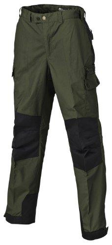Pinewood Lappland Outdoorhose - Pantalones de montaña para hombre, color verde oscuro / negro, talla 46