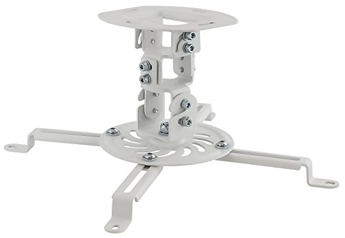 Mount-It Ceiling Projector Mount Height Adjustable Universal Stand Fits Epson Optoma Benq Viewsonic Projectors...