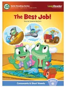 """""""The Best Job!"""" features short vowel """"e"""" sound."""