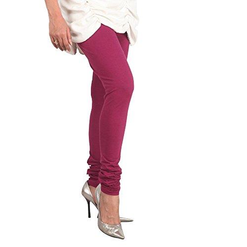 Lux Women Cotton Leggings -Mauve-L 03 -Free Size