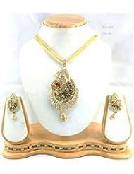 Perk Art Jewels Silver Gold Metal Beads Stone Bracelet For Women