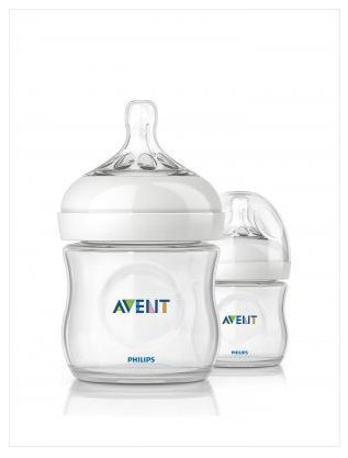 Philips Avent Bottle BPA Free Avent Version Size 4 Oz. (2-pack).