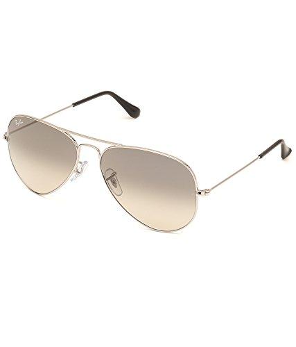Ray-Ban RB3025 032/32 Medium Size 58 Aviator Sunglasses