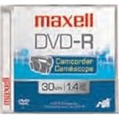 Maxell Dvd Rewritable Media - Dvd-Rw - 1.40 Gb - 3 Pack - 80Mm Mini Product Category Storage Media Optical Media