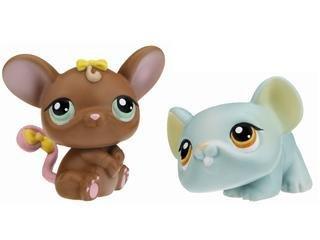 Littlest Pet Shop Assortment 'B' Series 3 Collectible Figure Mouse And Rat
