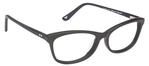 Vincent Chase VC 6487 Matte Black Blue C1 Eyeglasses(103909)