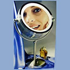 8X/1X Lighted Make-Up Mirror by Zadro
