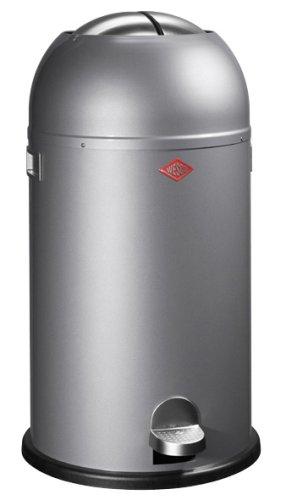 Blanc Bacs A Ordures Cuisine Maison Wesco 104 012 01 Poubelle De