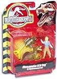 Jurassic Park III Amanda Kirby and Spinosaurus