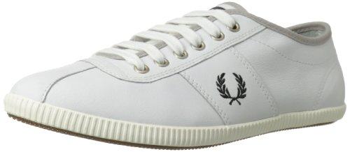 Fred Perry - Zapatillas de cuero para hombre blanco blanco, color blanco, talla 42.5