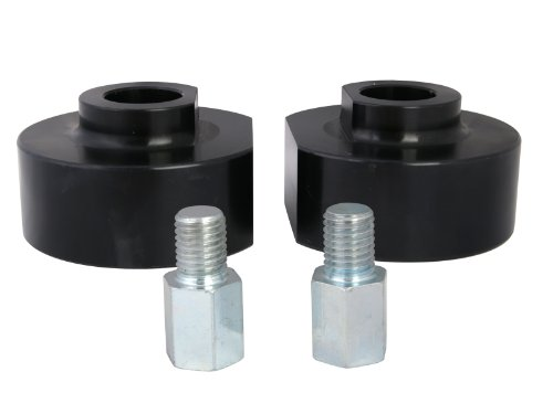 2″ Front Leveling Kit for 1981-1996 Ford F150 Truck + Bronco 4WD SUV – Black Lift Spacers