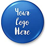 Custom Logo Badge - Personalized With Safety Pin Backing